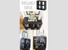 Ikea Kallax Hack to a bar Made by #keeparker Daily Bee