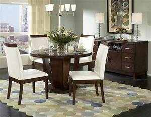 dining room sets round table marceladickcom With round dining room table decor