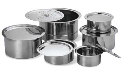 stainless steel cooking pot top indian cooking pot pan