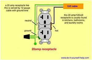20 Amp 230 Volt Receptacle Wiring Diagram 3590 Julialik Es