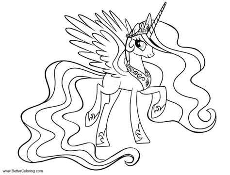 mlp alicorn coloring pages twilight sparkle printable  kids  adults
