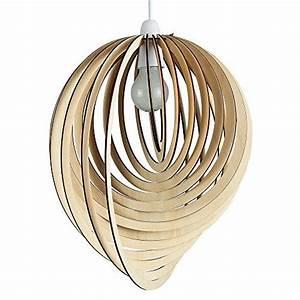Amazon Luminaire Suspension : luminaire suspension bois ~ Teatrodelosmanantiales.com Idées de Décoration