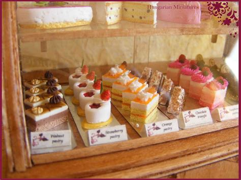 cuisine miniature my tiny dollhouse miniatures cakes and cakes and