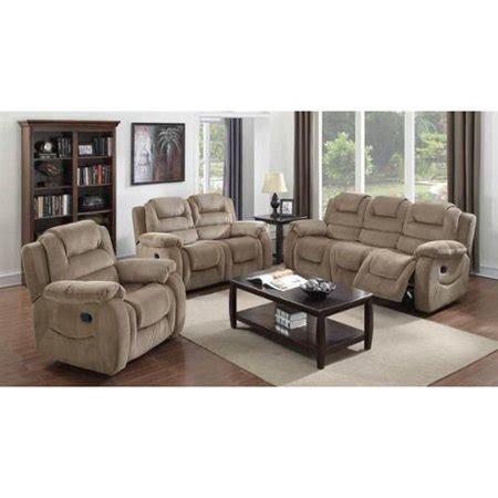 pc reclining living room set walmartcom