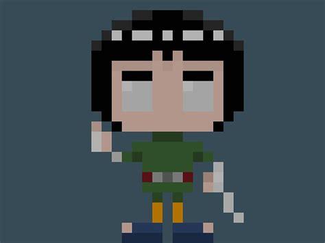 25+ Best Ideas About Pixel Art Naruto On Pinterest
