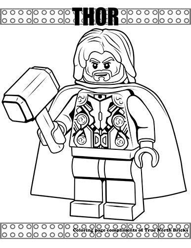 coloring page thor lego coloring lego coloring pages