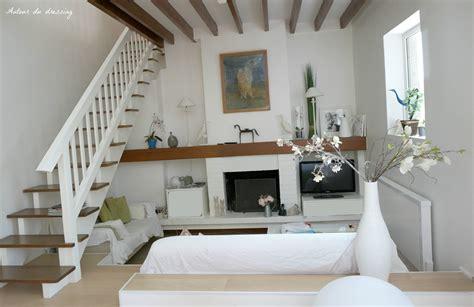 deco chambre lambris visite le salon séjour entre shabby chic et design
