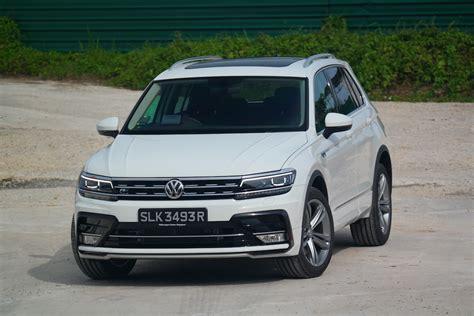 tiguan 2 zubehör volkswagen vw tiguan 2 0 r line singapore 2018 review price
