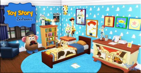 My Sims 4 Blog Toy Story Bedroom Set By Miguel