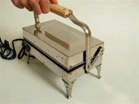 Westinghouse Antique Waffle Iron Maker   YouTube