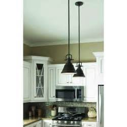 mini pendant lights for kitchen island island lights from lowes allen roth 8 in w bronze mini pendant light with metal shade at