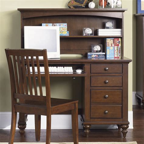 student desk  hutch  liberty furniture wolf