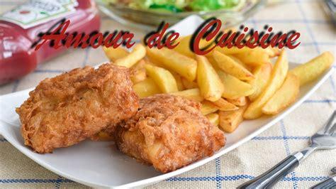 Recette De Fish And Chips Maison, Cuisine Anglaise