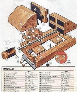 DIY Drill Press Vise • WoodArchivist