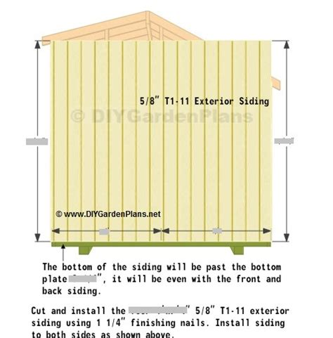 10 x 14 saltbox shed plans side wall siding saltbox shed plans page 9