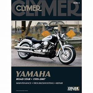 Clymer Color Wiring Diagrams  Yamaha Road Star 1999