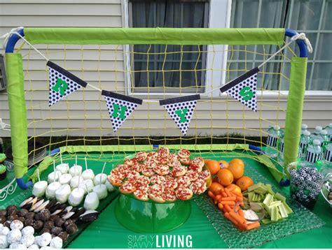 soccer birthday party decor ideas kids party ideas