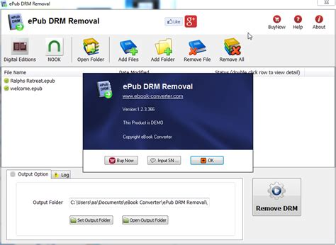 Drm Removal With Key