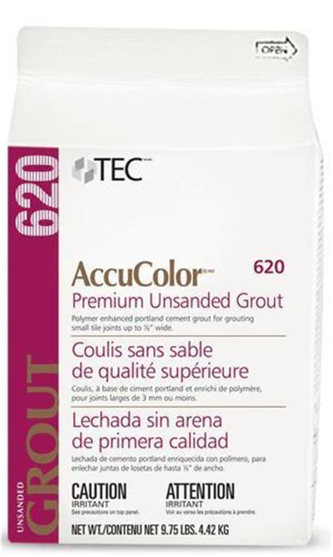 Unsanded Tile Grout Caulk by Tec 174 Accucolor 174 Premium Unsanded Grout 620 9 75 Lbs At