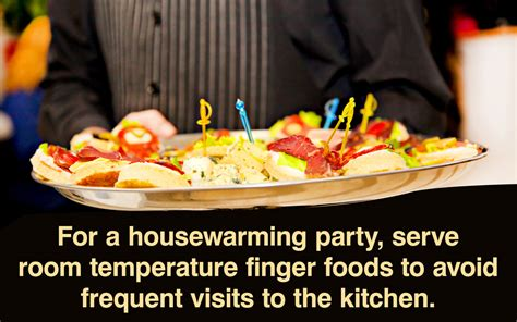 Warming Food Ideas by Food Ideas That Ll Be A Hit At Your Housewarming
