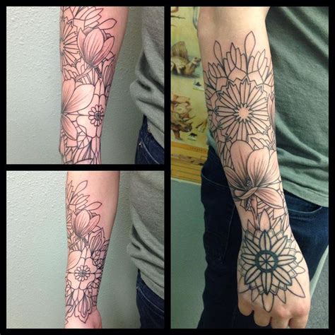 forearm sleeve tattoos ideas  pinterest