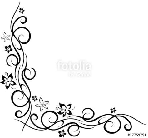 ranken bloemen quot ranke floral ornament mit blumen bl 252 ten tattoo style