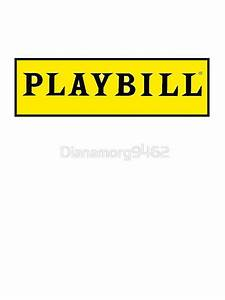 """""""Playbill """" Stickers by Dianamorg9462 Redbubble"""