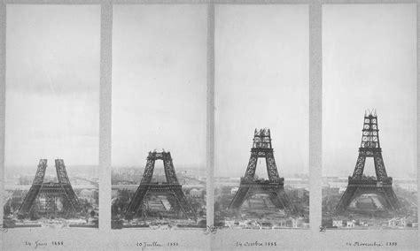 Eiffel Tower Under Construction, 1887-1889
