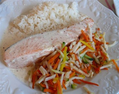 pav 233 de saumon sauce 224 la vanille recette