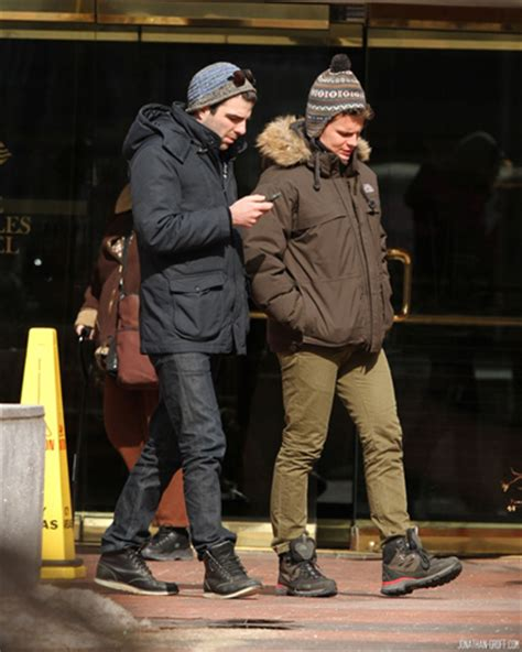 zachary quinto jonathan groff  cambridge  boston