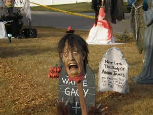 Image of: 35 Idea Halloween Decoration Yard 3 Easy Tip 5 Halloween Outdoor Decorations On A Budget