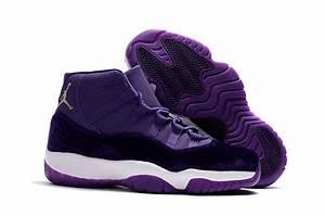 """2017 Air Jordan 11 """"Purple Velvet Heiress"""" For Sale"""