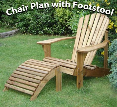 Adirondack Chair Ottoman Plans by Adirondack Chair Footstool Plans By Alfrescofurniture On