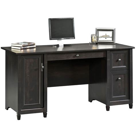 sauder edge water computer desk sauder woodworking edge water collection computer desk