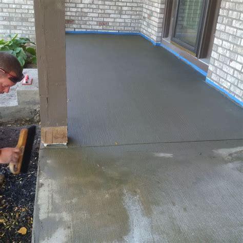 companies that resurface garage floors ohio concrete resurfacing concrete sealing garage floors