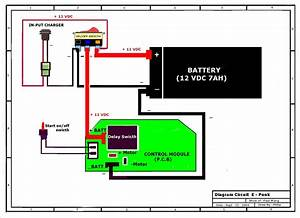 Razor E100 Battery Wiring Schematic