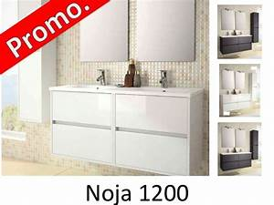Meuble Vasque 120 : meubles lave mains robinetteries meuble sdb meuble de salle de bain 120 cm noja 1200 2 ~ Nature-et-papiers.com Idées de Décoration