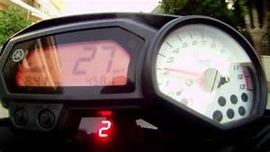 Yamaha Fz8 Gear Indicator In Action