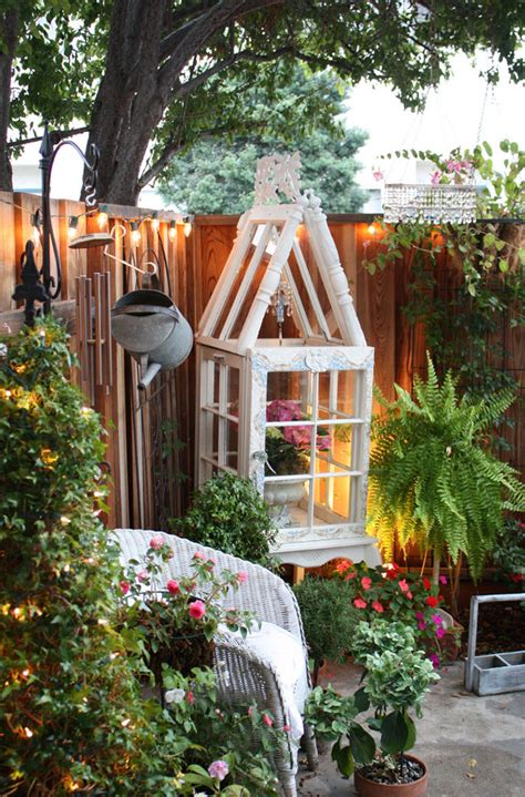 backyard fence decor outdoor magic how to decorate with lights