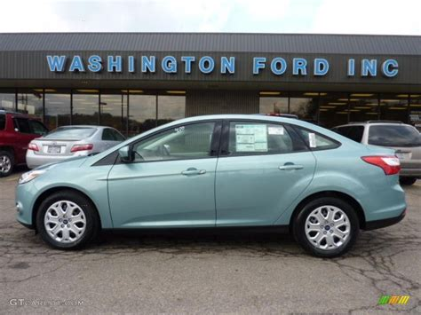 Ford Focus Colors by 2012 Frosted Glass Metallic Ford Focus Se Sedan 46936840