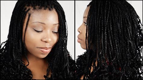 Micro Braid Hairstyles Start To Finish In 5 Minutes