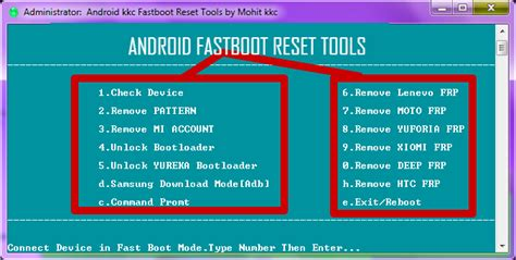 android tools and drivers android fastboot reset tool v1 2 free mohit kkc