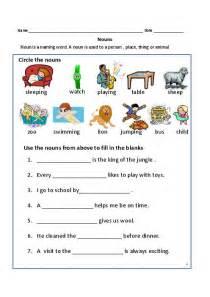 Common Proper Nouns Worksheet 1st Grade