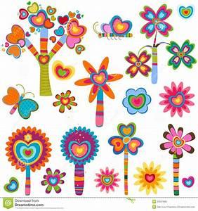 Blumen Der Liebe : retro blumen der liebe lizenzfreies stockbild bild 23347606 ~ Orissabook.com Haus und Dekorationen