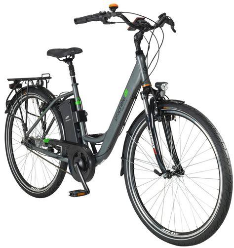 26 zoll e bike prophete e bike city damen 187 geniesser e8 7 171 26 zoll 7 aeg mittelmotor 374 wh
