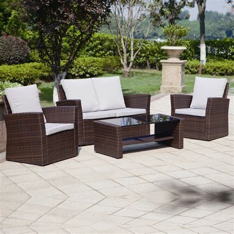Cheap Garden Furniture Sets by Pin By Abreo Rattan Garden Furniture On Brown Rattan