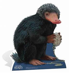 Niffler Fantastic Beasts and Where to Find Them Cardboard