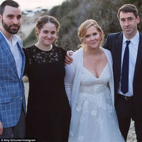 amy schumer and husband amy schumer posts intimate photos from surprise wedding