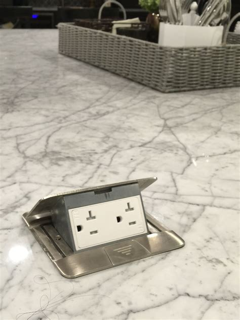 pop  island electric outlets perfect  plug  griddle