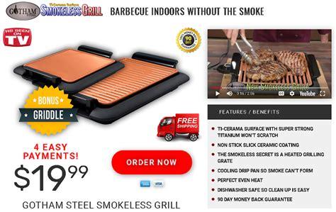gotham steel avis gotham steel smokeless grill review indoor smokeless